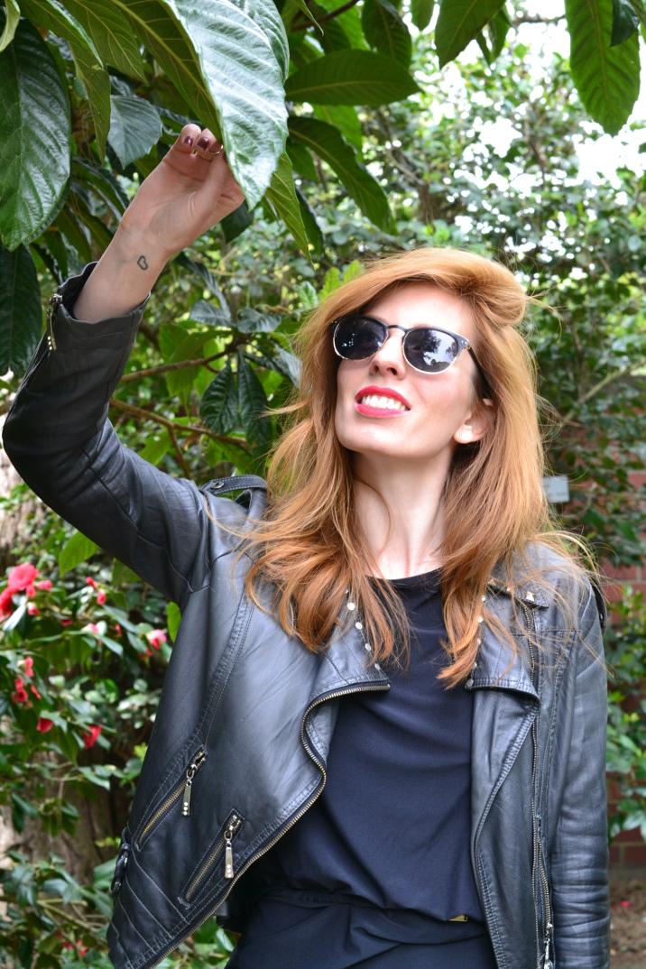 Ich und der botanischer Garten