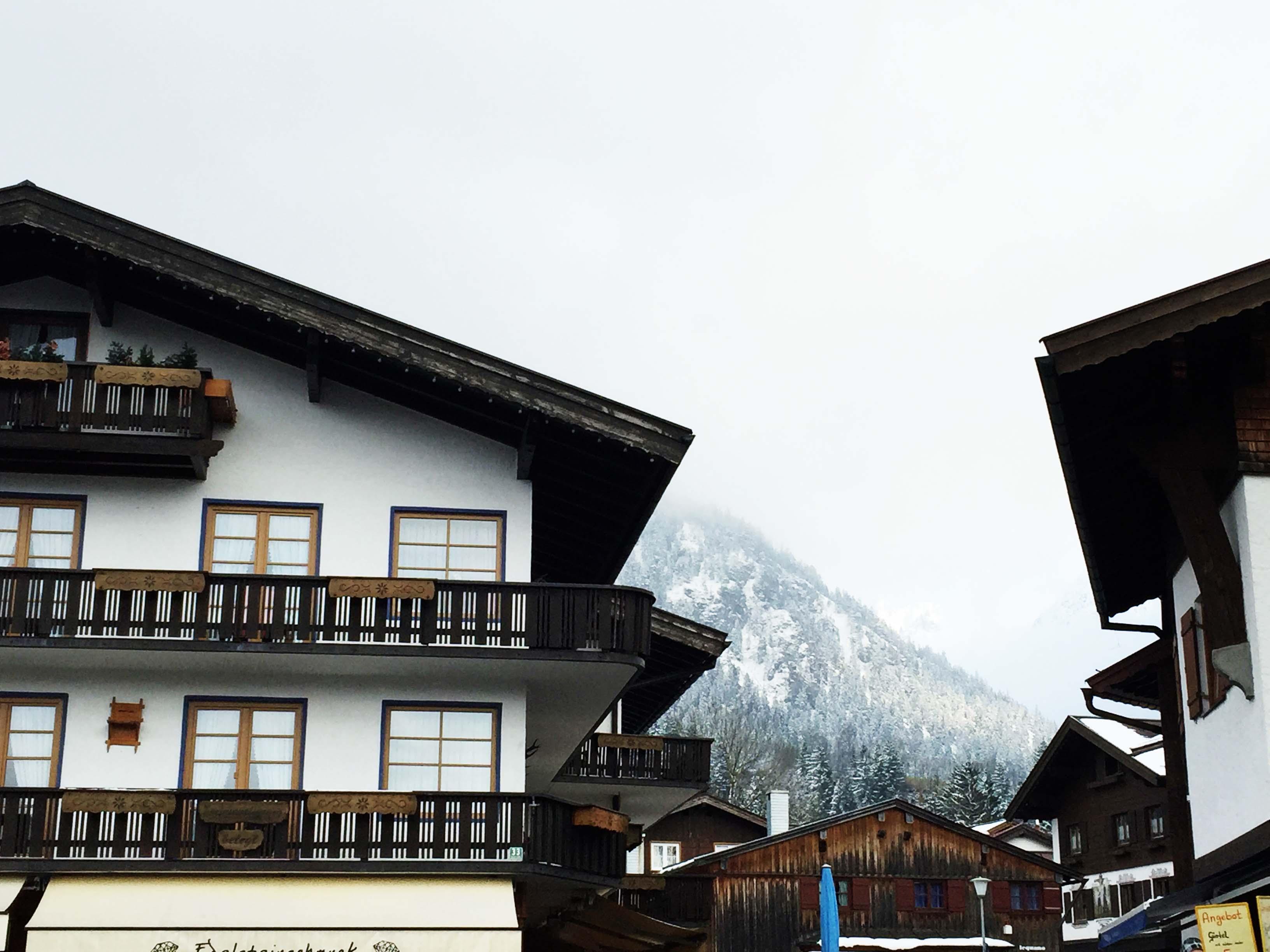 Der südlichste Punkt Deutschlands: Oberstdorf