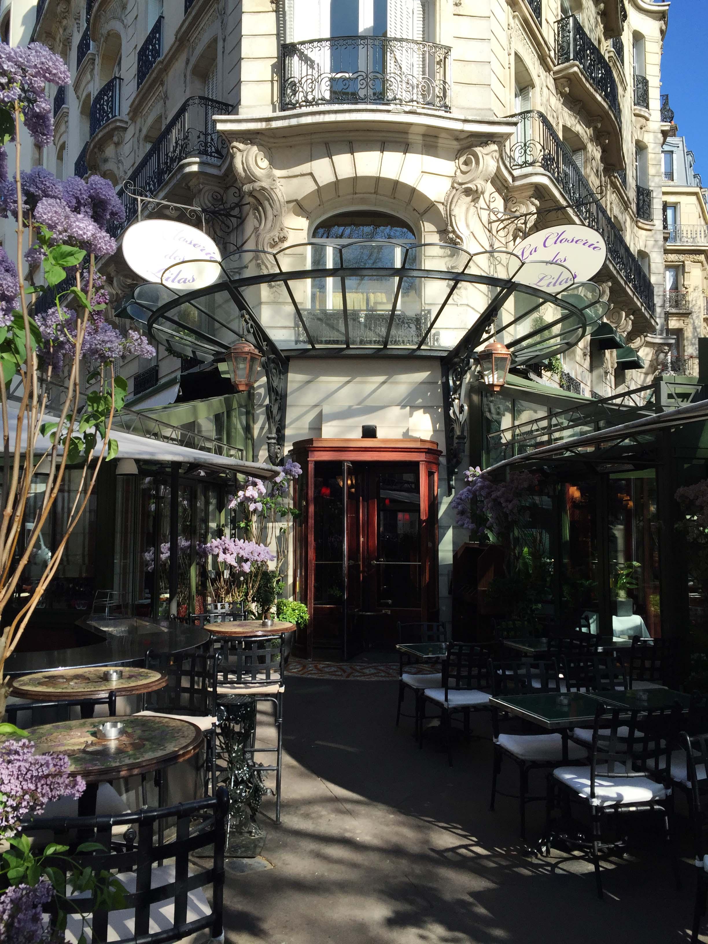 La Closerie des Lilas, 171 Boulevard du Montparnasse