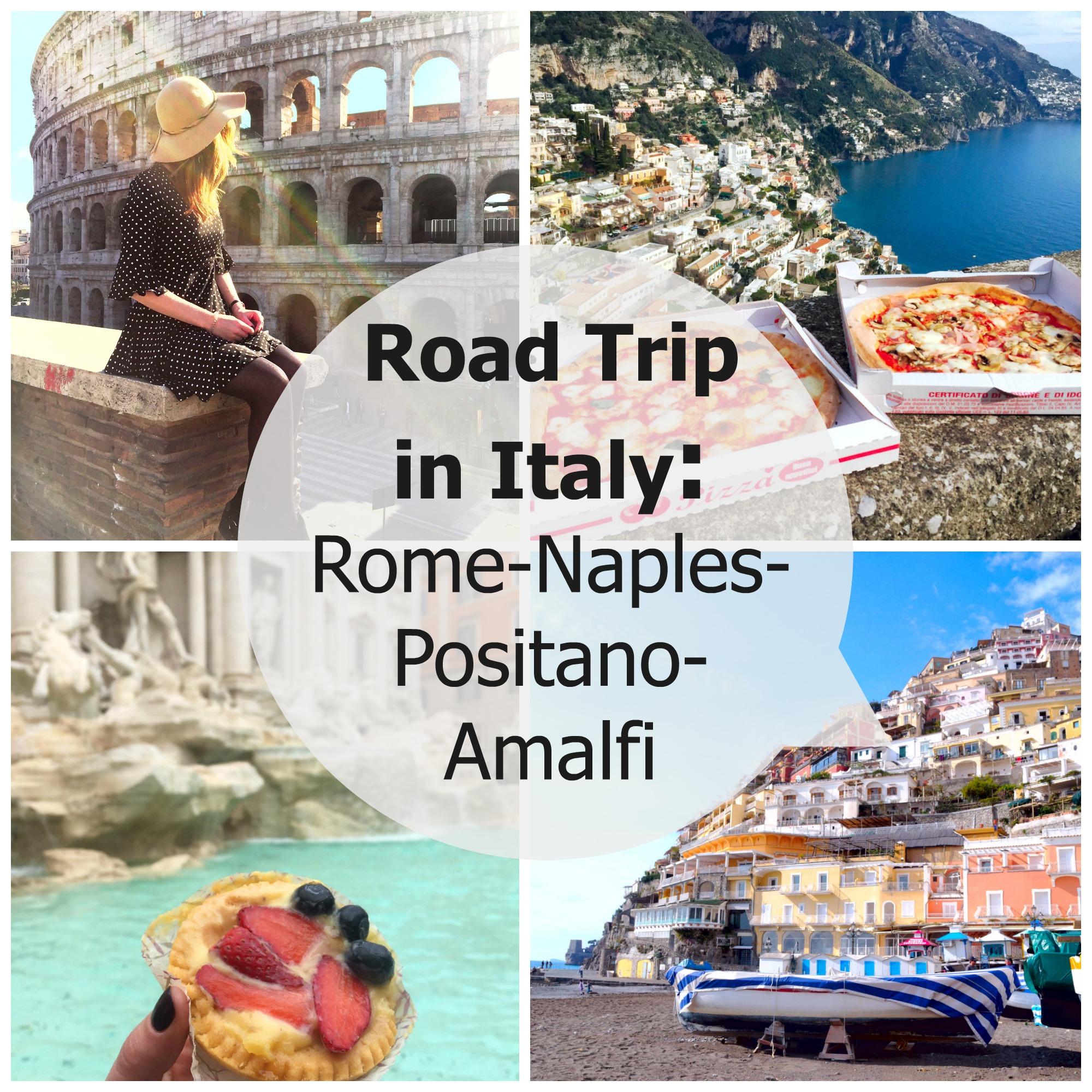 Roadtrip in Italien: Rom-Neapel-Positano-Amalfi