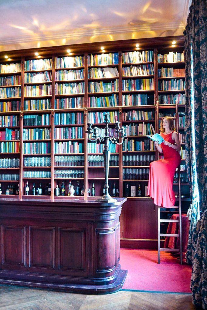 Bibliothek in Huis de Voogst