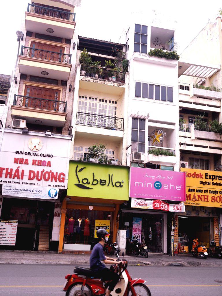 Architektur von Saigon