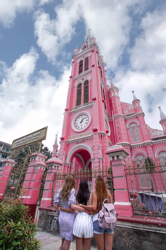 Pink Church in Saigon