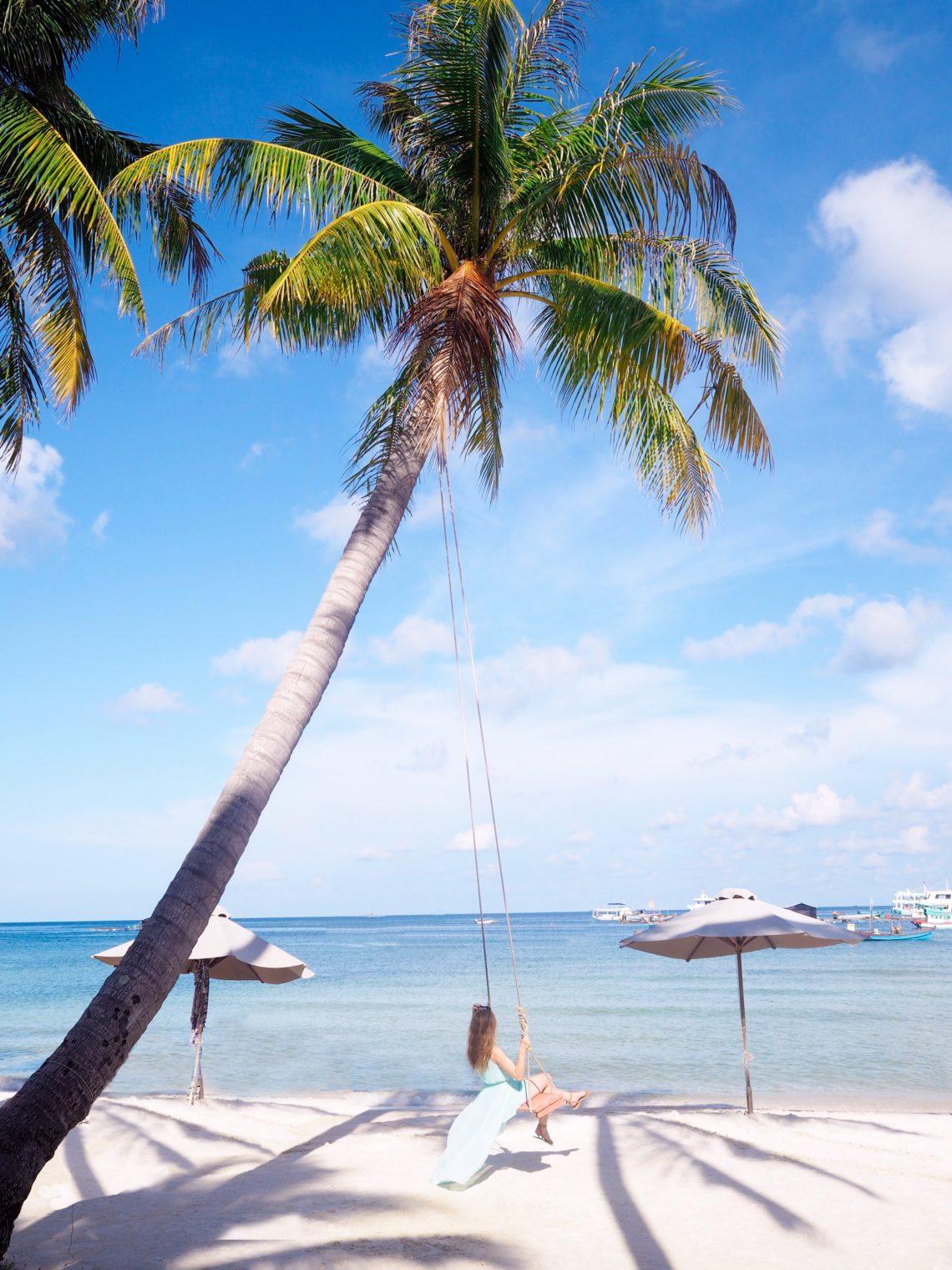 Palmen auf Phu Quoc Insel