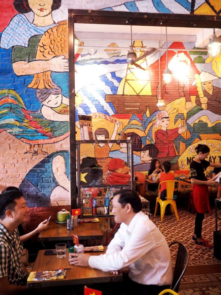 Restaurant Propaganda in Ho Chi Minh City