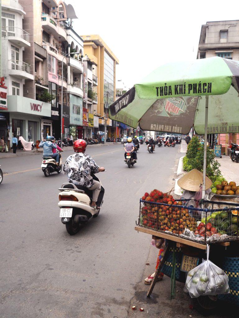 Straßen von Ho Chi Minh City