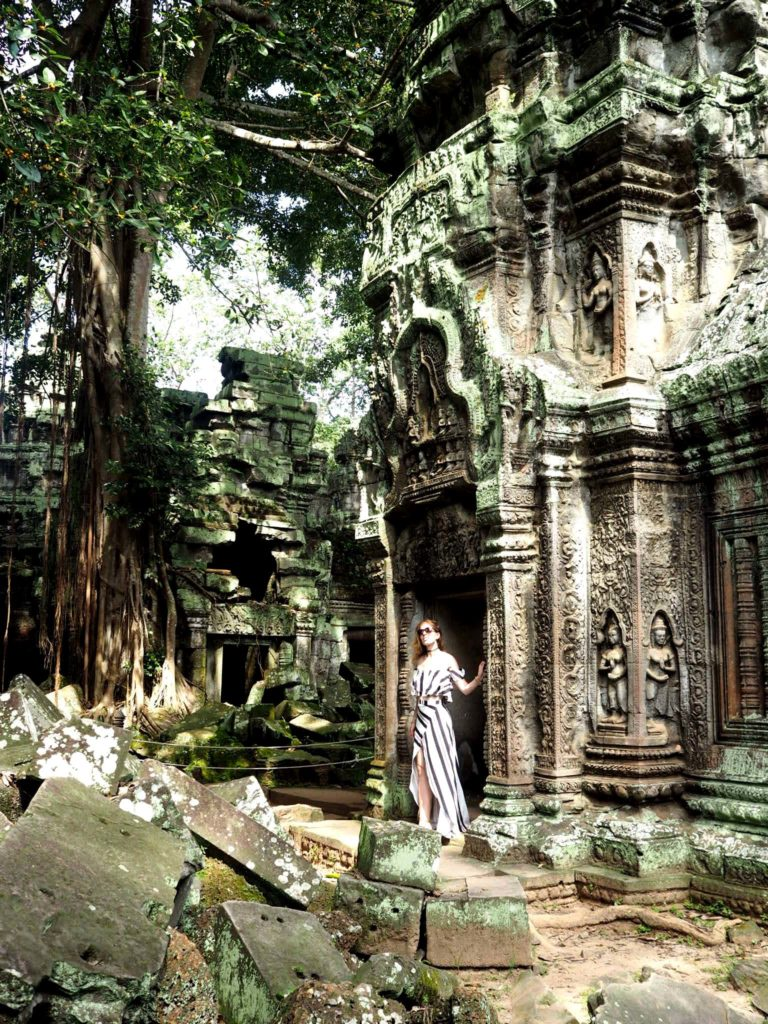 In Ta Prohm Tempel