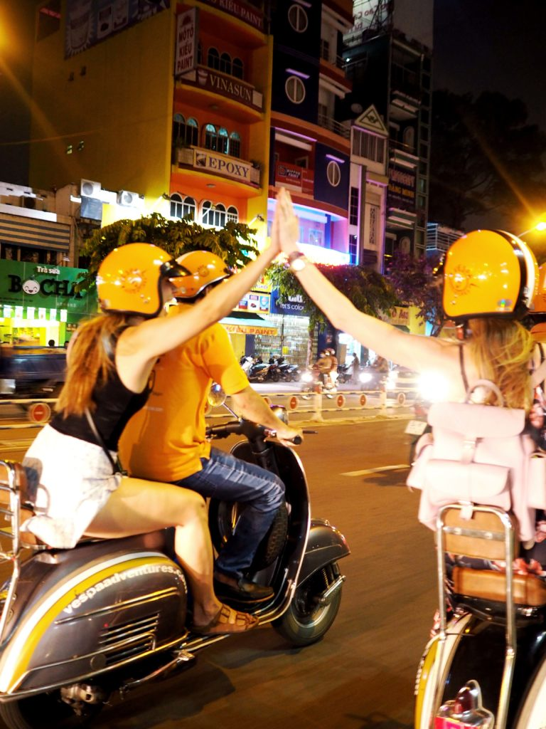 Vespa Tour in Ho Chi minh City