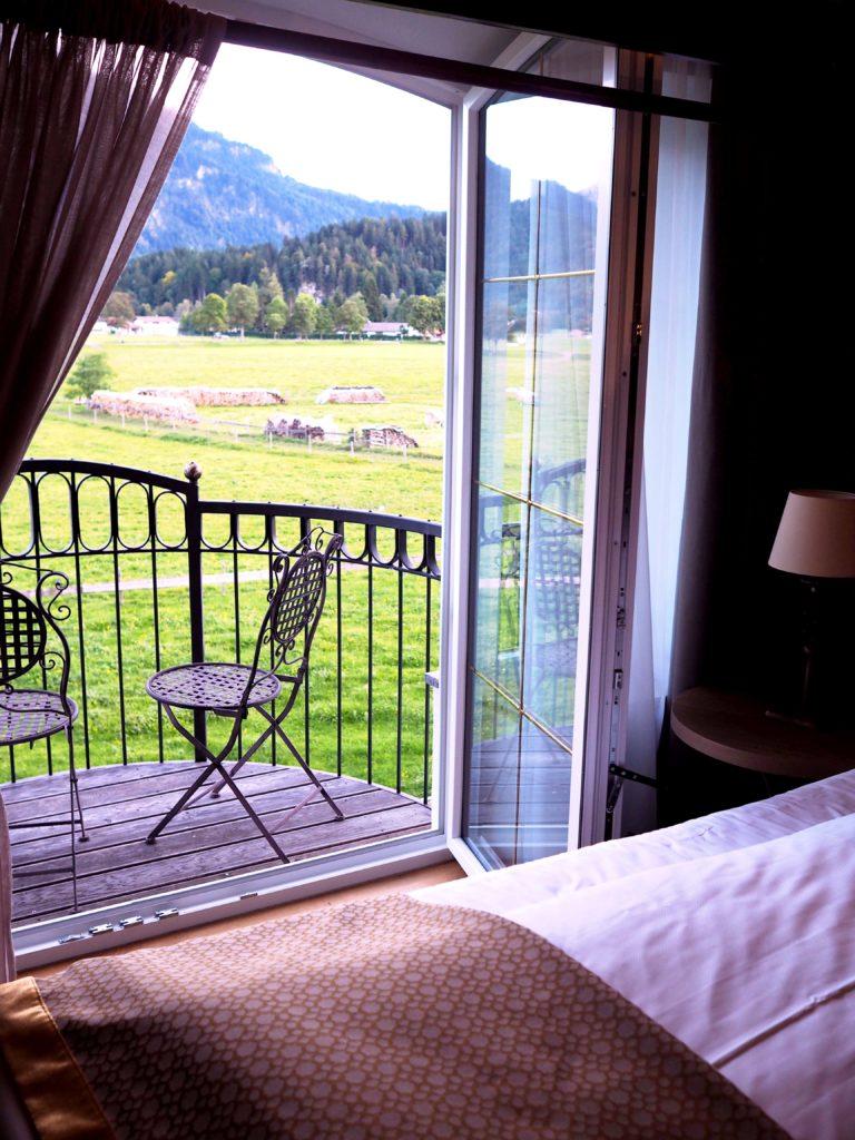 Aussicht aus dem Zimmer im Rübezahl Hotel