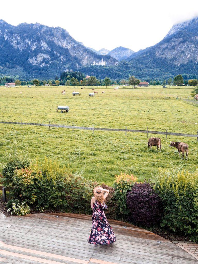 Das Rübezahl und die Sicht auf Neuschwanstein