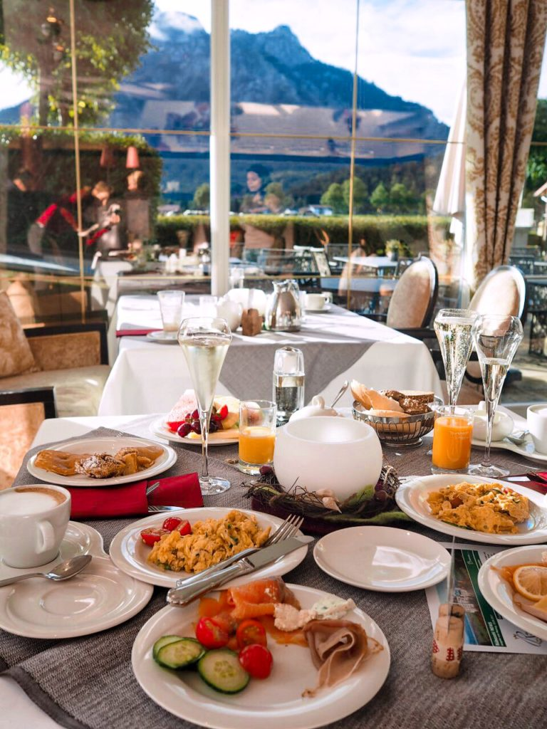 Frühstücksbuffet im Rübezahl Hotel