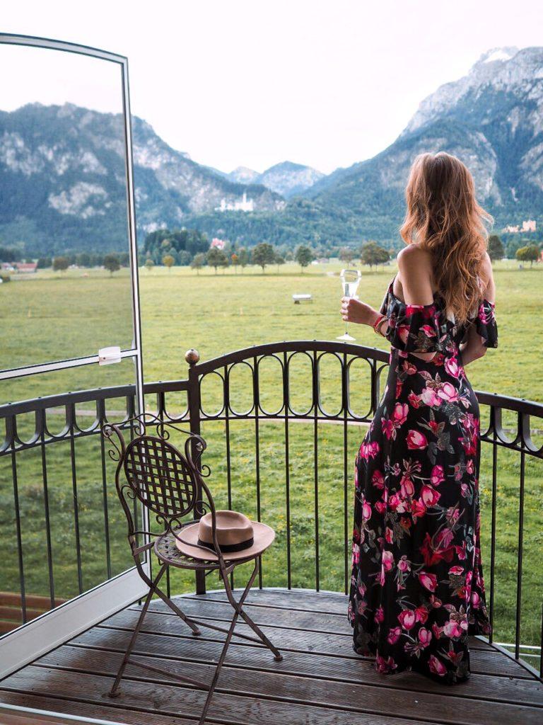Aussicht von der Königssuite im Rübezahl Hotel