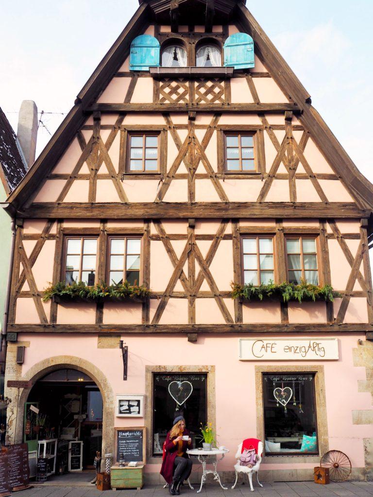 """Cafe """"Einzigartig"""" Rothenburg ob der Tauber"""