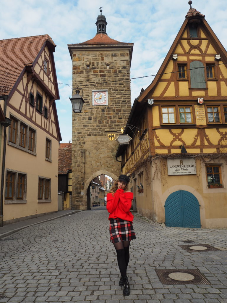 Cute Architecture in Rothenburg ob der Tauber