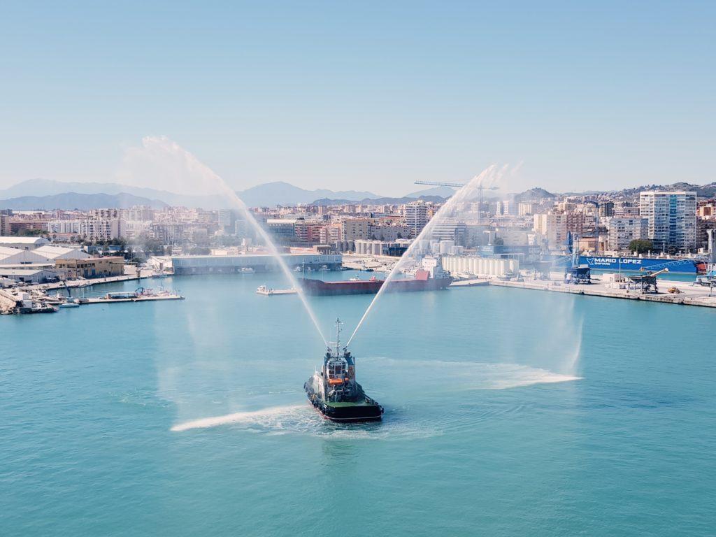 Aussicht auf Malaga von Symphony of the Seas