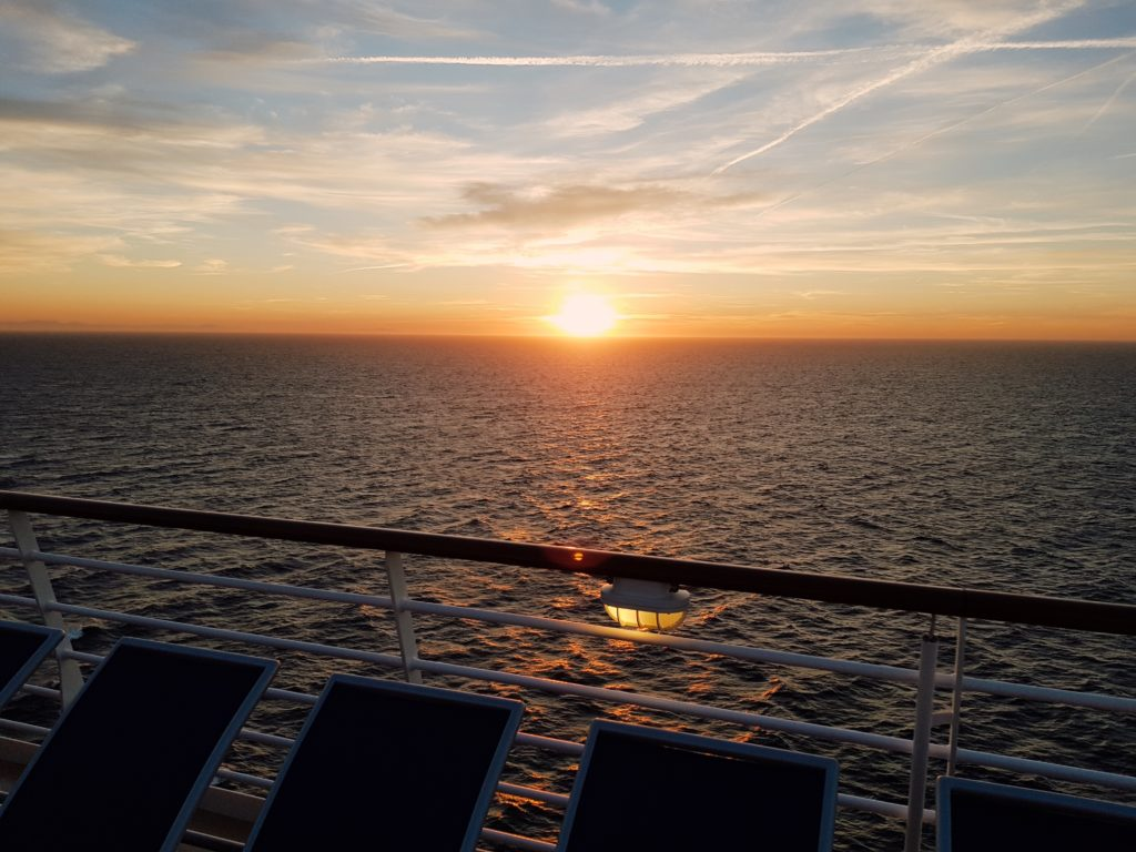 Sonnenuntergang Symphony of the Seas
