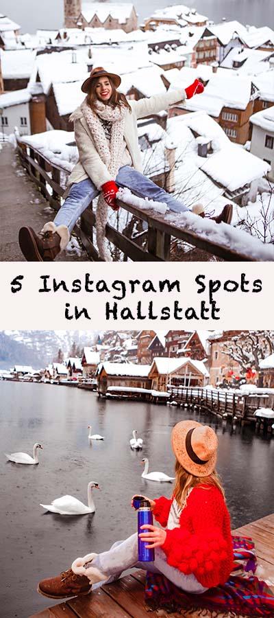 5 Instagram Spots in Hallstatt Pinterest