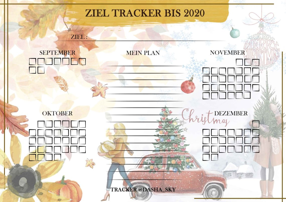 Ziel Tracker @dasha_sky